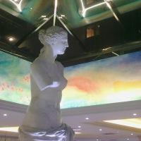 Hall of the Hotel Venus, Benidorm. Spain